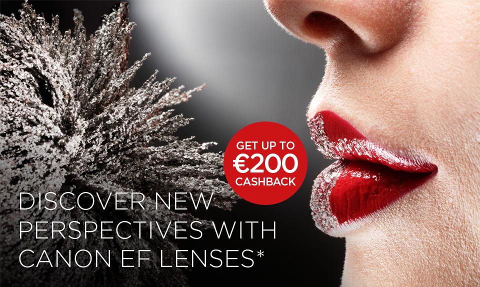 Canon Lens Cashback promotion